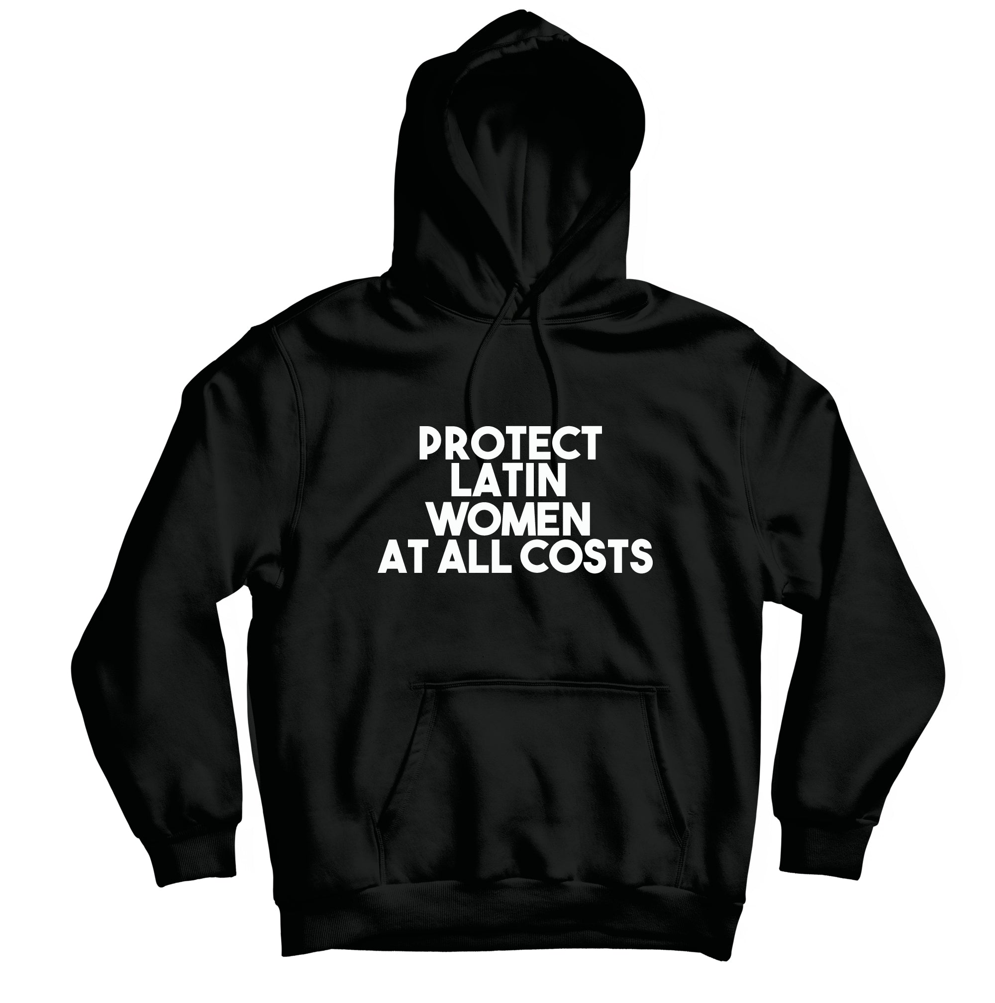 Protect Latin Women - HOODIE - TOPS, TSS CUSTOM GRPHX, SNEAKER STUDIO, GOLDEN GILT, DESIGN BY TSS