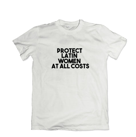 Protect Latin Women T-Shirt - TOPS, TSS CUSTOM GRPHX, SNEAKER STUDIO, GOLDEN GILT, DESIGN BY TSS