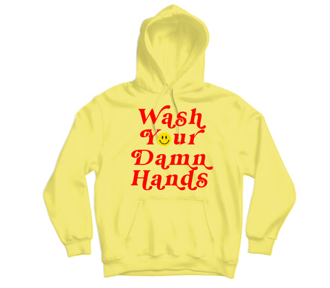 Wash Your Hands Hoodie - TOPS, TSS CUSTOM GRPHX, SNEAKER STUDIO, GOLDEN GILT, DESIGN BY TSS