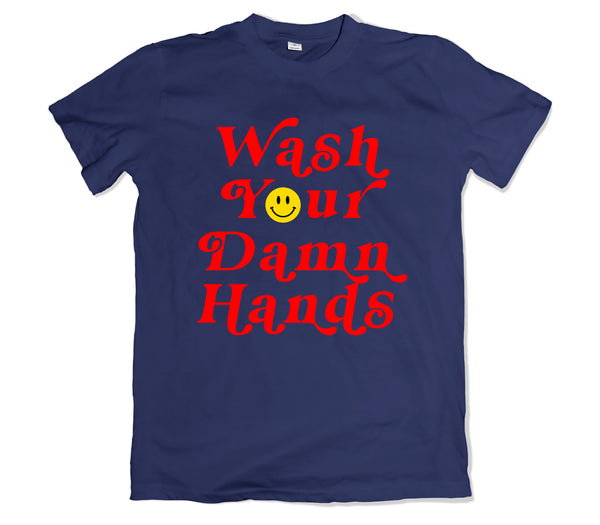 Wash Your Hands T-Shirt - TOPS, TSS CUSTOM GRPHX, SNEAKER STUDIO, GOLDEN GILT, DESIGN BY TSS