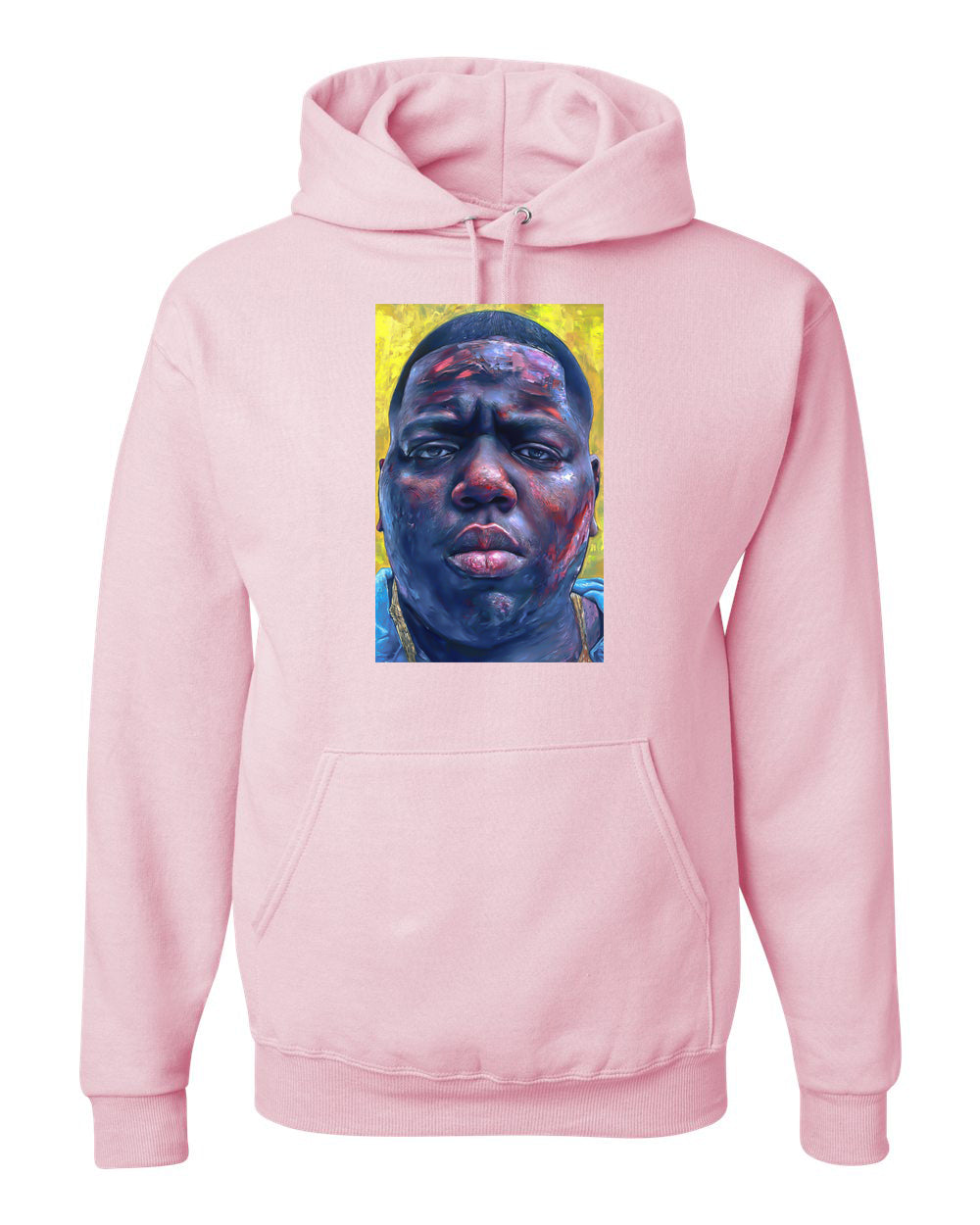 Biggie Hoodie - Pink - TOPS, TSS CUSTOM GRPHX, SNEAKER STUDIO, GOLDEN GILT, DESIGN BY TSS