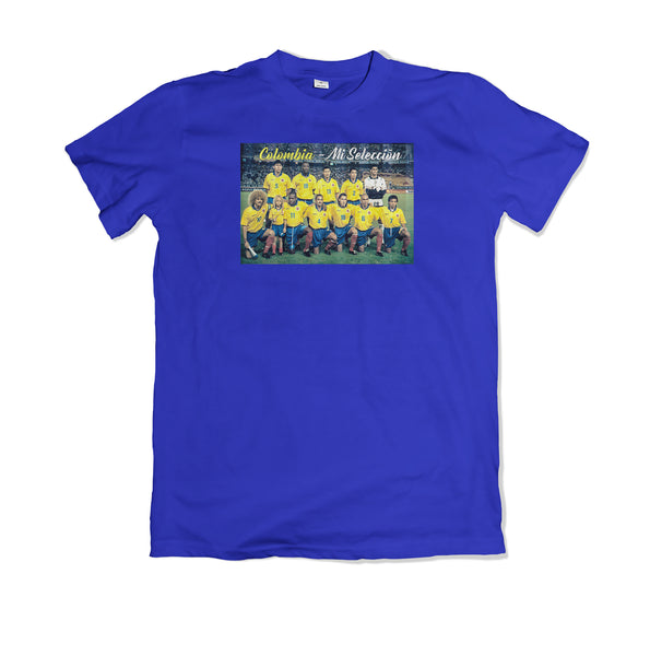 Colombia - Mi Seleccion Tee shirt - TOPS, TSS CUSTOM GRPHX, SNEAKER STUDIO, GOLDEN GILT, DESIGN BY TSS