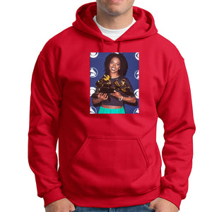 Lauryn Hill Grammy Hoodie - TOPS, TSS CUSTOM GRPHX, SNEAKER STUDIO, GOLDEN GILT, DESIGN BY TSS