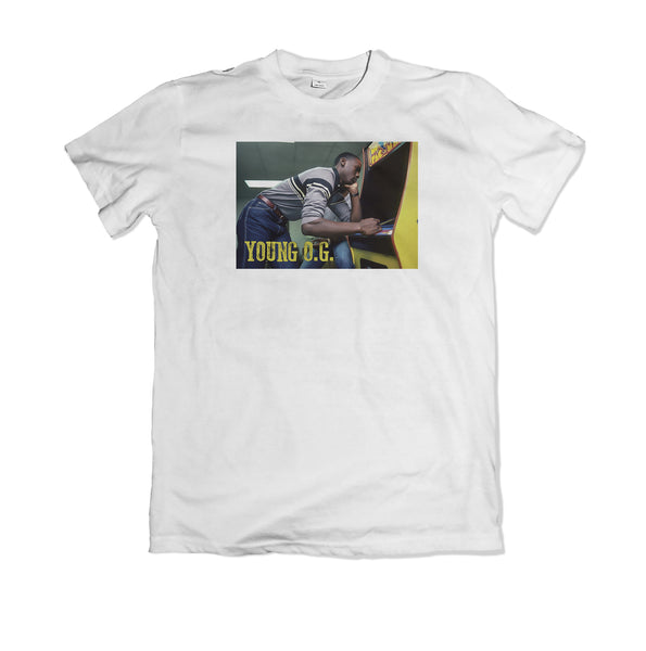 Jordan Young OG Tee shirt - TOPS, TSS CUSTOM GRPHX, SNEAKER STUDIO, GOLDEN GILT, DESIGN BY TSS