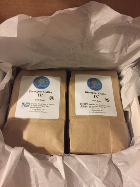 Subscription Box! BOLD IV(Four) Dark Roast Whole Bean 2lbs.