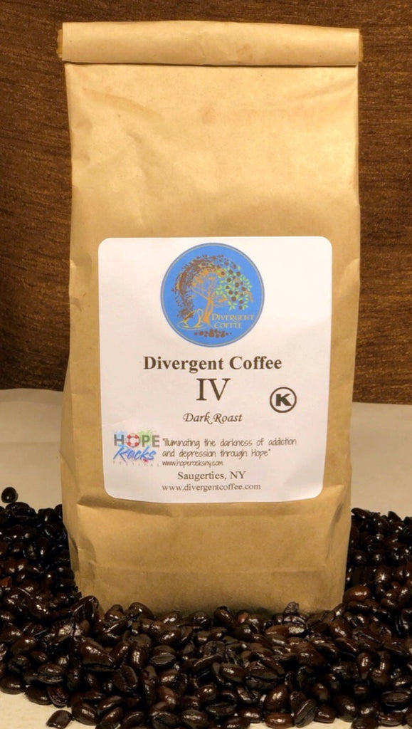 Divergent Signature Blend IV(Four) Dark Roast Whole Bean 16 oz