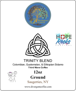 TRINITY BLEND III Third Wave Light Roast 12oz Ground