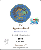 Subscription Box! Divergent Signature Blend IV(Four) Dark Roast Ground 2lbs.