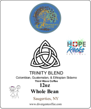 TRINITY BLEND III Third Wave Light Roast 12oz Whole Bean