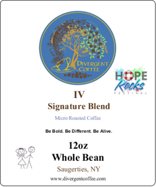 Divergent IV Whole Bean 12oz