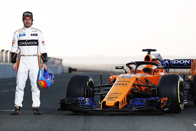 We are back ! Fernando Alonso is return to F1