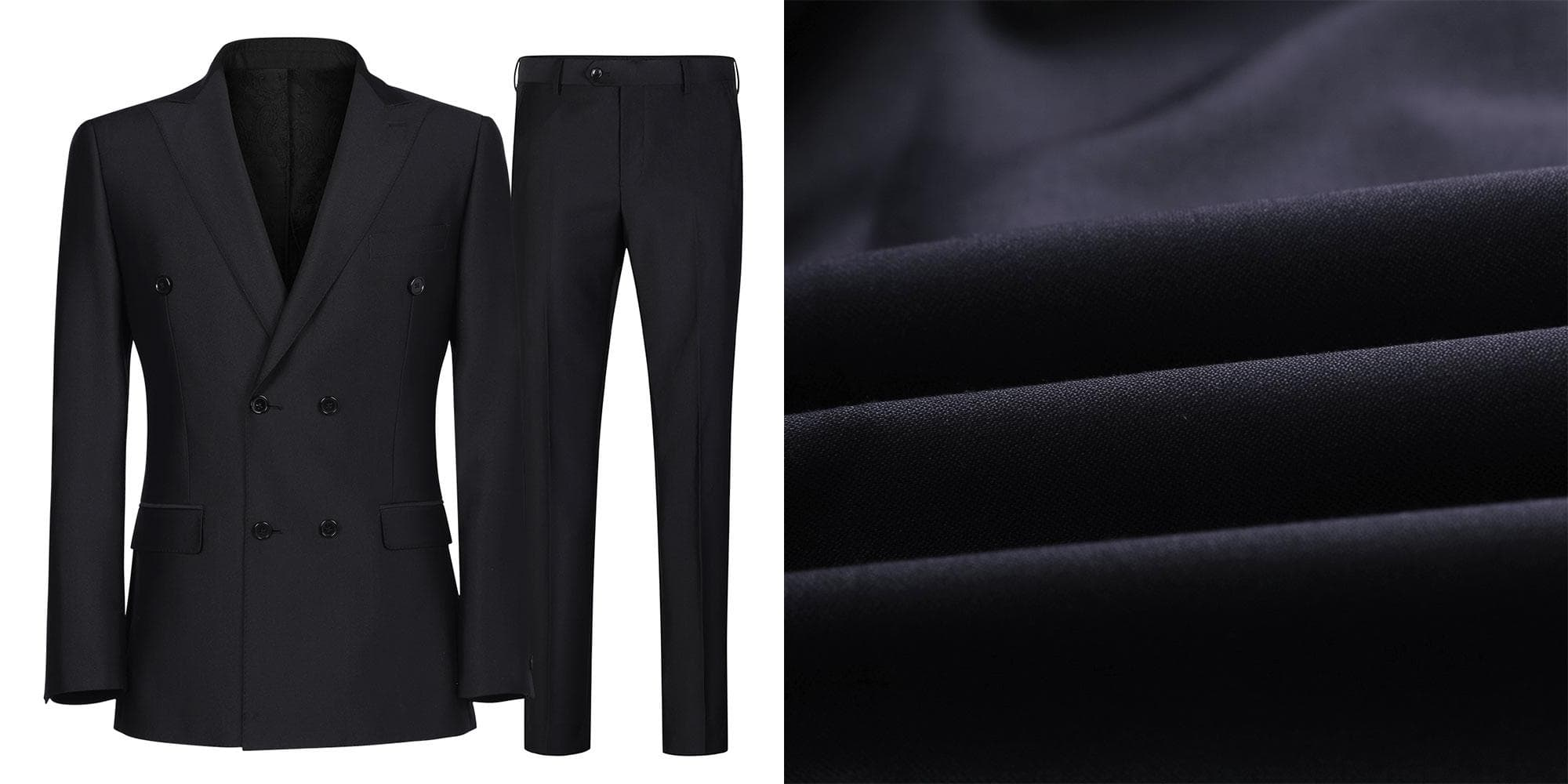 Classic Black Two-Piece Suit