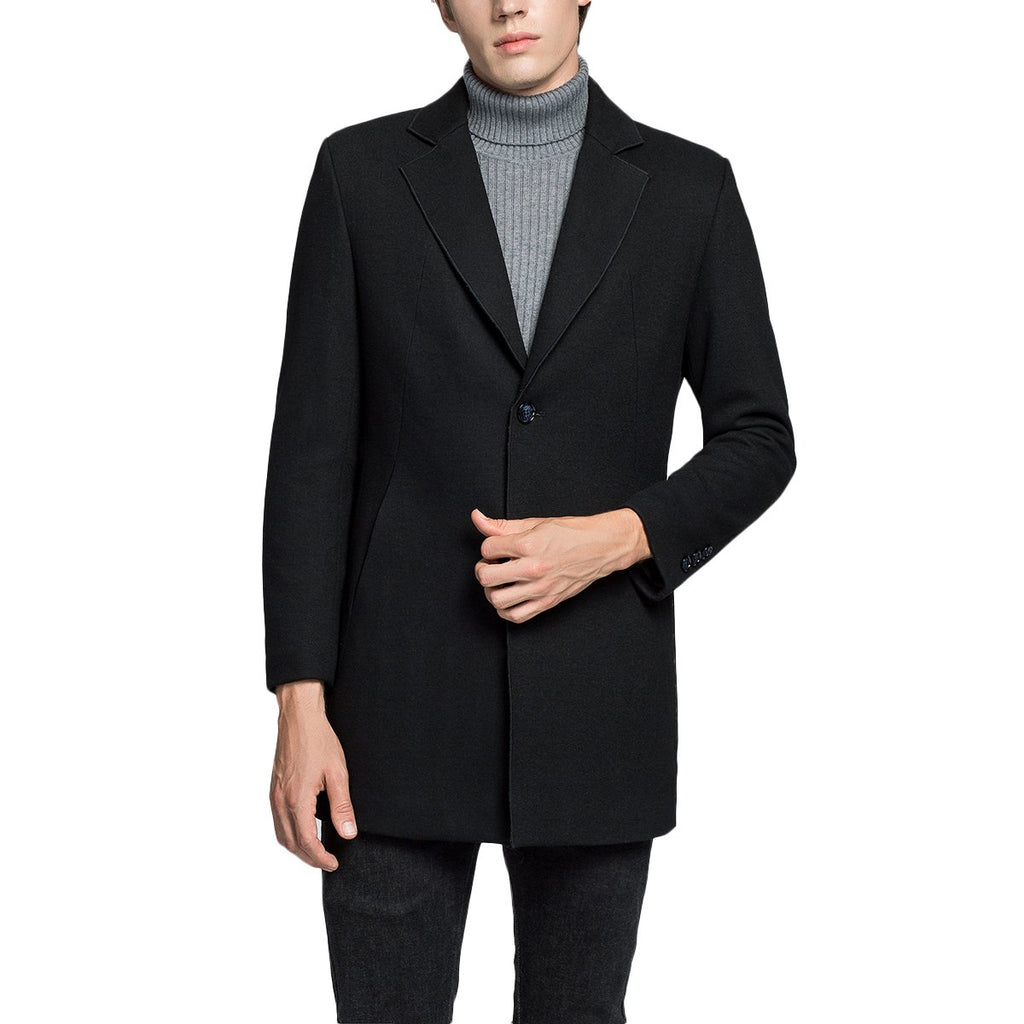 Knitted Wool Overcoat