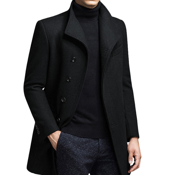 Wool coat-cloudstyle