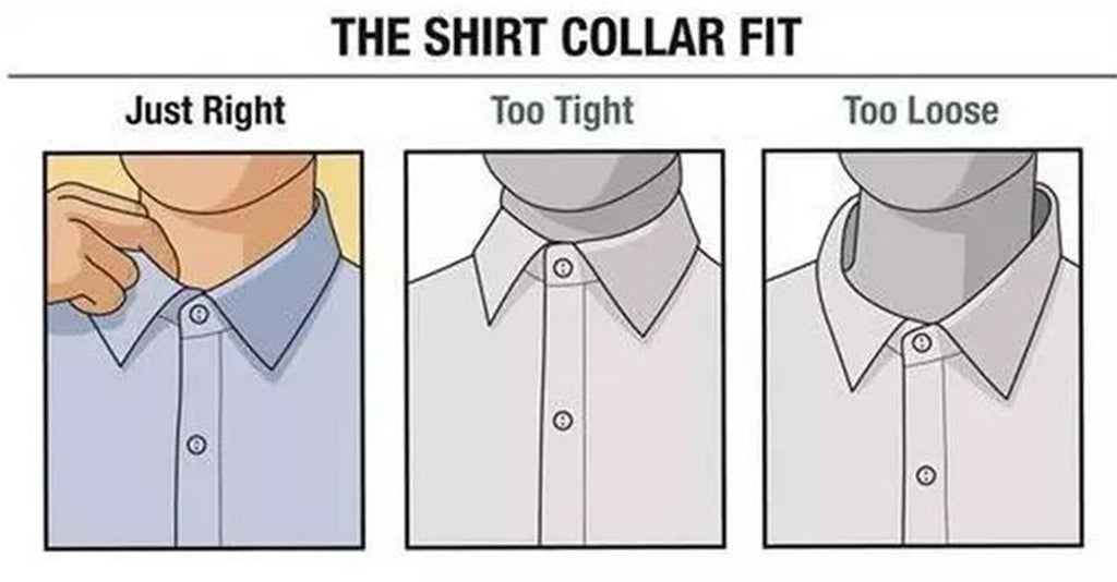 the shirt collar