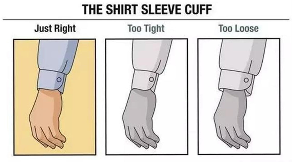 the shirt sleeve cuff
