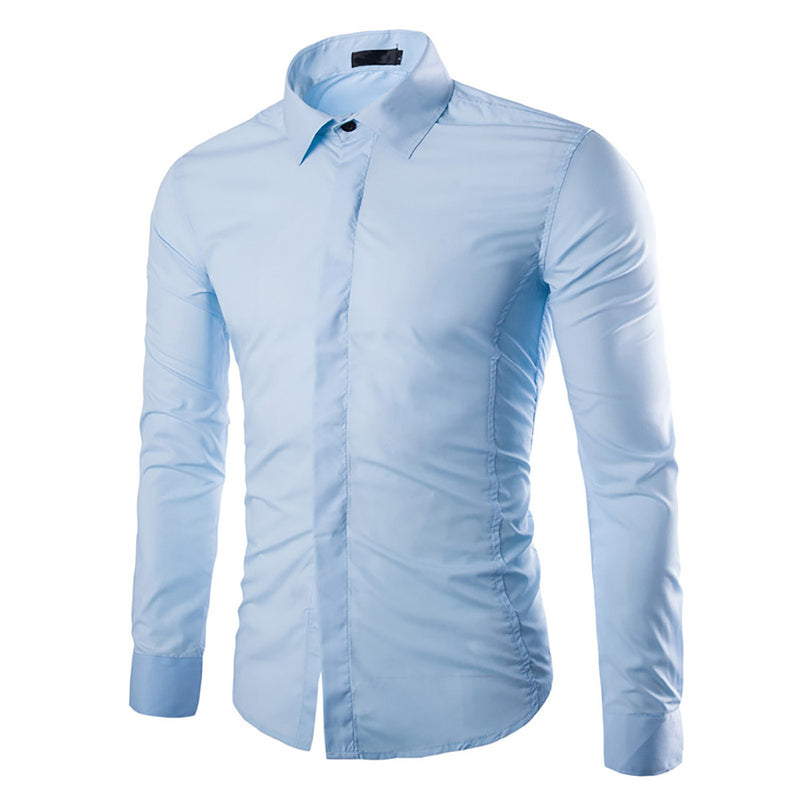 LightBlue Regular Fit Casual Shirt