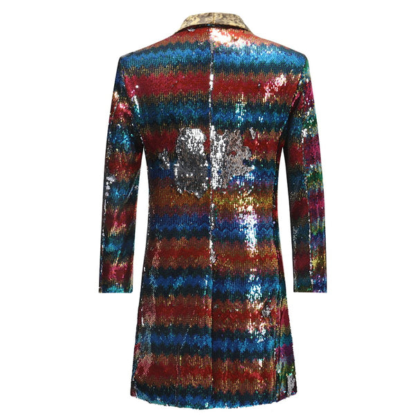 Modern Fit Sequin Robe Motley