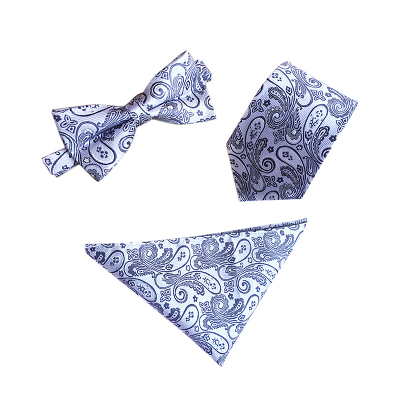 Floral Bow Tie Set 5 Choices - Cloudstyle
