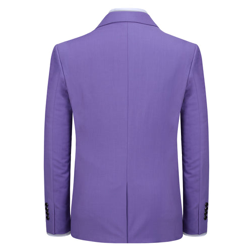 Purple Stylish Blazer One Button Casual Blazer