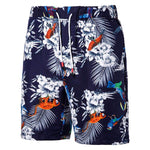 Relaxed Fit Multi-Pockets Cargo Shorts DarkBlue