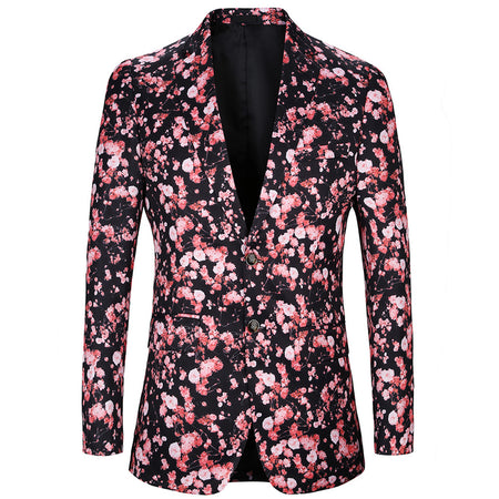 Slim Fit Casual Blazer 9 Colors