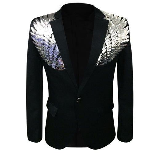 Modern Fit Wings Blazer 2 Colors