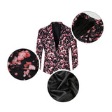 Slim Fit Wedding Suit Blazer Pink