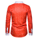 Christmas Creative Design Slim Fit X'mas Style Shirt