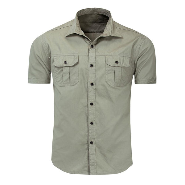 Relaxed Fit Casual Fashion Shirt 3 Colors