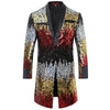 Slim Fit Motley Sequin Blazer 3 Colors