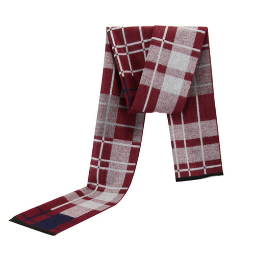 Casual Plaid Scarf 4 Colors