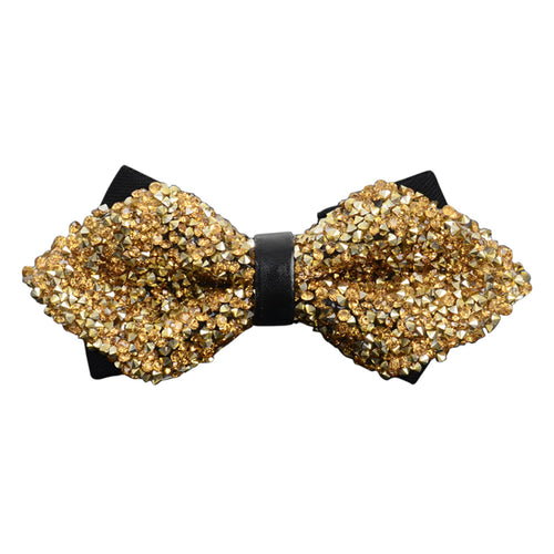 Shiny Crystal Diamante Bow-tie 10 Colors - Cloudstyle