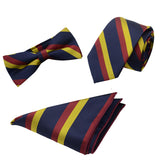 3-Piece Stripe Bow Tie Set 5 Styles