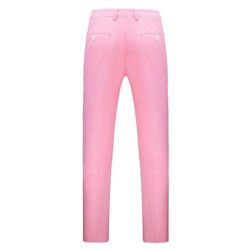 Modern Fit Straight Leg Classic Pants Pink