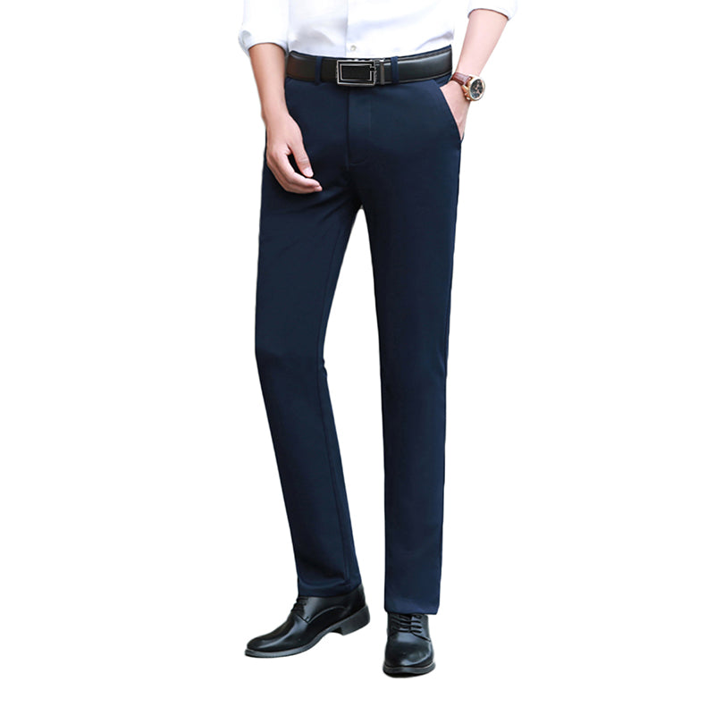 Modern Fit Formal Pants Navy