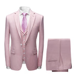 Boutique Pinkish Suit Three Piece Modern Suit