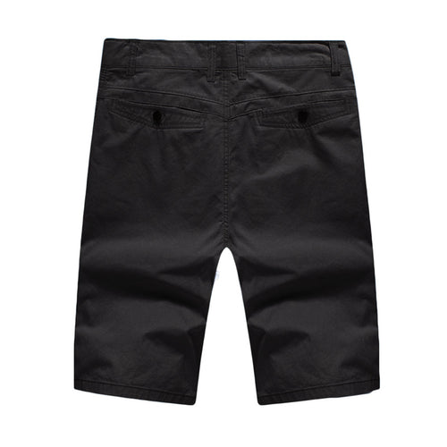 Black Loose Fit Casual Shorts For Summer