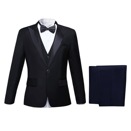 3-Piece Slim Fit Vintage Suit 6 Colors