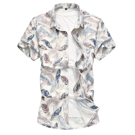Slim Fit Lightweight Printing Shirt 3 Colors