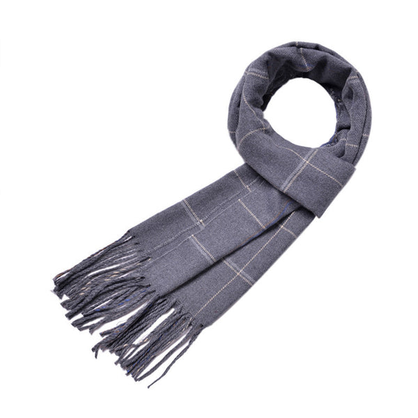Plaid Wool Scarf 9 Styles - Cloudstyle