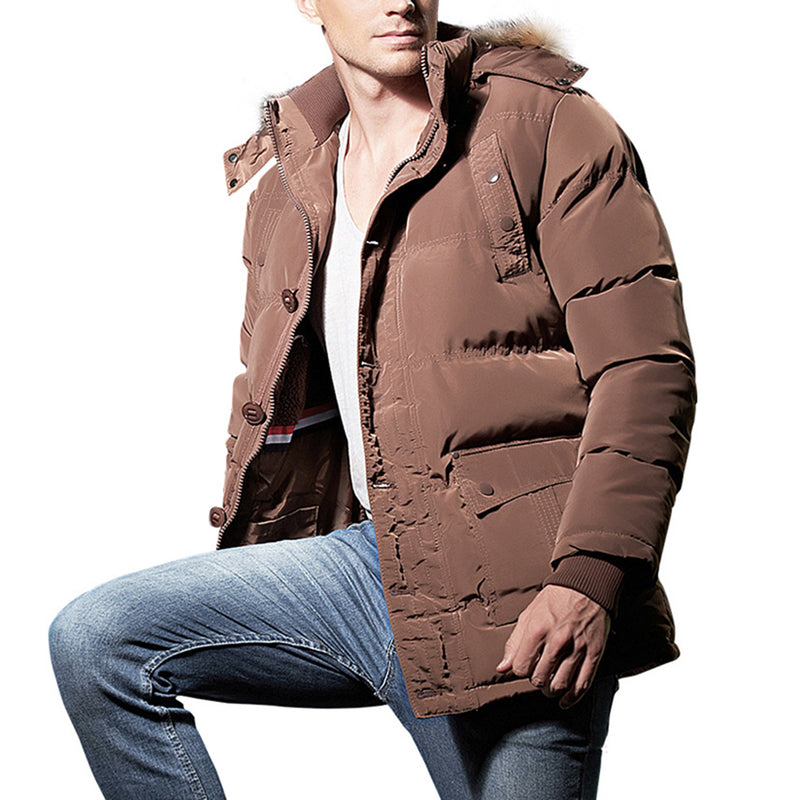 Quilted Puffer Jacket 4 Colors - Cloudstyle
