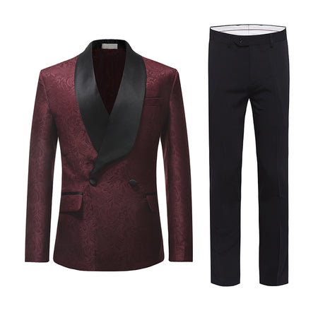 3-Piece Special Design Dress Suit 2 Colors