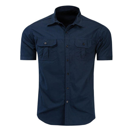 Slim Fit Geometric Style Shirt 4 Colors