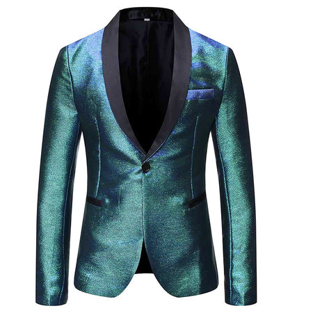 Slim Fit Light Green Blazer Stylish