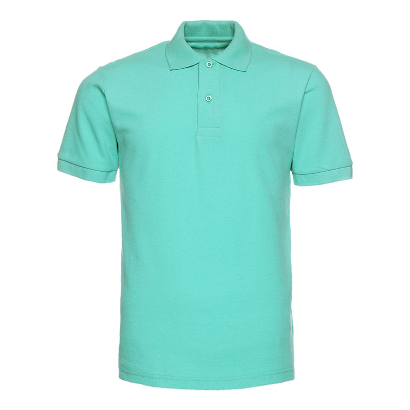 Green Series Polos Turn-Down Collar Shirt
