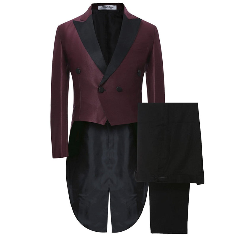 2-Piece Slim Fit Cocktail Suit 2 Colors - Cloudstyle