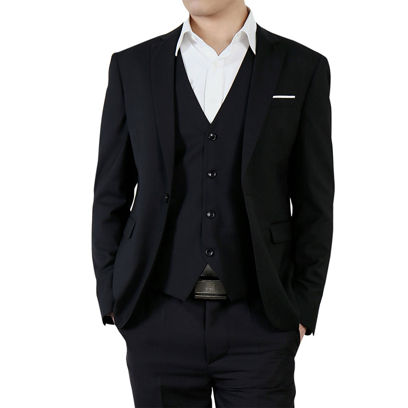 Black Casual Blazer Slim Fit Business Blazer
