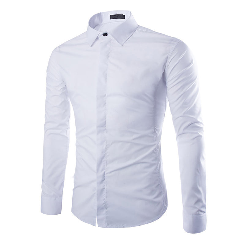 Regular Fit White Dress Shirt