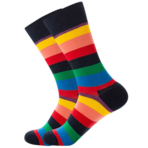 Colorful Stripe Socks 5 Colors
